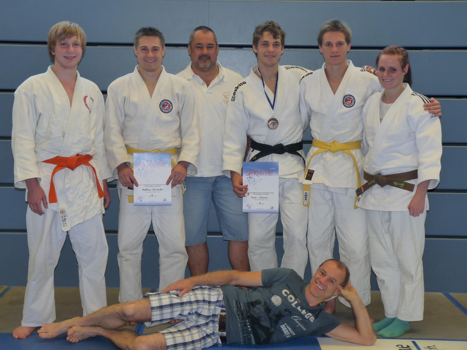 Das Traunreuter Team in Abensberg